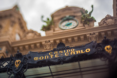 Famous Monte-Carlo Casino (Michael Mendonca) Tags: travel summer vacation people storm france cars tourism field contrast 50mm nissan place bokeh vibrant f14 thing sigma casino structure montecarlo monaco porsche 24mm nikkor depth mediterraneansea gtr raceway 2015 taxfree montecarlomonaco nikond700 freelens monacomonaco monteocarloracetrack