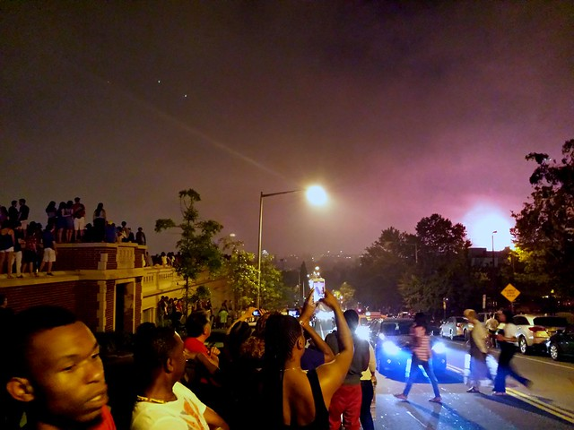 13th and Clifton. Columbia Heights. Fourth of July.