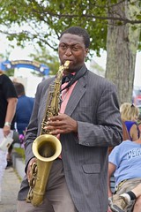 Sax (Read2me) Tags: she music man candid instrument streetperformer pree cye gamewinner thechallengefactory
