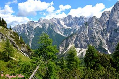 DSC_7476 (Original Loisi) Tags: panorama mountain mountains nature berg view wildlife natur berge slovenia slovenija slowenien wandern kranjskagora bergwelt republikaslovenija kronau