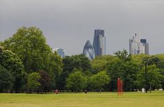 City of London (Mark Wordy) Tags: london rain skyscrapers bow gerkin stormclouds cityoflondon stmarysaxe leadenhall cheesegrater darkskies towerhamlets