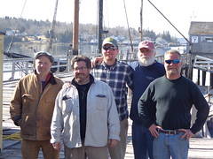 "April 13, Harold Burnham; Josh Navone; Eric Graves; Capt. Dave Thompson; Larry Colcord • <a style=""font-size:0.8em;"" href=""http://www.flickr.com/photos/50364214@N06/19309082993/"" target=""_blank"">View on Flickr</a>"