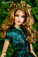 """FOR ADOPTED """" The Innocent Sensuality """" OOAK 16'' Poppy Parker by Aquatalis (AlexNg & QuanaP) Tags: original our by price nude store doll photos cost visit worldwide poppy 16 etsy shipping parker included 235 repaint quanap wwwetsycomshopaquatalisboutique"""