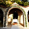 Stunning #venue for today #destination #wedding. Would you like a #chapel like this, for your #religious wedding in #Athens? Wedding #photography by www.elenidona.com #weddingplanner #weddingingreece www.weddingingreece.com