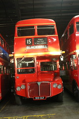 RMC1513 (matty10120) Tags: old bus london heritage classic yard vintage tube strike routemaster extra rt ensign 205 rm 513clt rmc1513