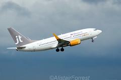 OY-JTY (aliforr64) Tags: birmingham nikon boeing 737 737700 bhx jettime d7000 sigma150500