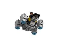 Microfighter Prometheus Landing (turbokiwi) Tags: lego alien chibi spaceship prometheus microfighter