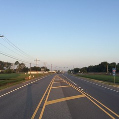 The Road Ahead. Day 115. Cameron St. in Duson, LA. Up early to beat the heat. On the same road all the way to Houston. #theworldwalk #travel #wwtheroadahead