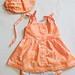 Itty Bitty Dress, Tea Party Bloomers & Bonnet