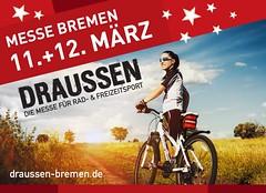 hummelbike bei der DRAUSSEN 2017