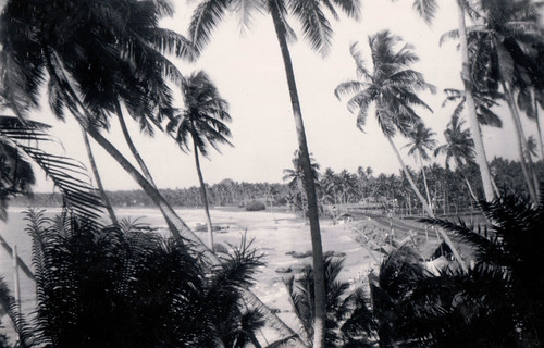 Mt Lavinia beach, Sri Lanka c1950?