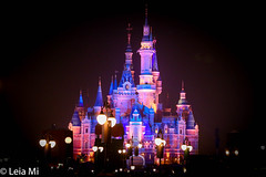Enchanted Storybook Castle (leiami31) Tags: enchanted storybook castle shanghai disneyland fantasia carousal fireworks
