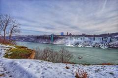 Niagara Falls in Winter (AncasterZ) Tags: waterfalls niagarafalls americanfalls landscape ef1635mmf4lisusm
