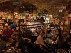 Rengeteg RomKafé, Budapest (un2112) Tags: coffee coffeeshop tea chocolate hotchocolate romkafé rengeteg budapest bartender humans humansofbudapest workers girl hungary january gx80 teddy teddybear