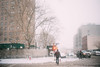 This old town still smell so pretty. (Linh H. Nguyen) Tags: snow storm winter blizzard street brooklyn newyork nyc a7r