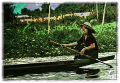 BURMA / MYANMAR (reinhard111) Tags: wasser frucht anbau boot burma myanmar