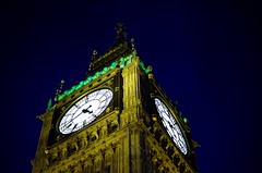 Big Ben - Londres (FGuillou) Tags: bigben londres london 伦敦 clock light night monuement