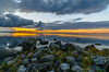 Evening by the sea (ArtDvU) Tags: sunset evening clouds summer cloudy baltic sea seaside seashore kvarken finland replot rocks nikon wideangle ostrobothnia raippaluoto