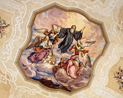 Ascension (DASEye) Tags: davidadamson daseye olympus ascension theascension melk austria melkabbey unesco unescoworldheritagesite frescoe ceiling art abbey