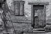 Number 12, Bosost (Ivan van Nek) Tags: bosost bossòst lérida catalonia lleida aranvalley valdaran cataluña valledearán spanje spanien espagne spain españa valldaran catalunya nikon d3200 nikond3200 bw monochrome blackandwhite doorsandwindows door window steps shadow