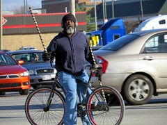 IMG_4608 (kennethkonica) Tags: canonpowershot canon global random hoosiers outdoor talking candid street streetphotography marioncounty midwest america usa indiana indianapolis indy hat people persons sticks traffic cars coat cold earphones face beard bluejeans blue
