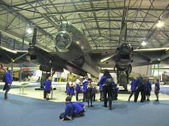 Avro Lancaster B.Mk.I R5868 at RAF Museum, Hendon 01.11.16 (Trevor Bruford) Tags: raf museum hendon london avro lancaster bmki r5868 aircraft plane aviation bomber wwii airplane warbird military