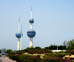 Freedom Towers Kuwait City (Proto1138) Tags: freedom towers kuwait city