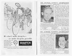 1952 Road Time Trials Council Champions' Concert. (Paris-Roubaix) Tags: brampton 1952 the road time trials council rttc royal albert hall british best allrounders national champions souvenir programme concert prize presentation cycling memorabilia vintage bike racing
