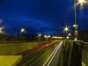 6780 Light trails - dawn breaking over the mountains (Andy - Busyyyyyyyyy) Tags: 20170106 a55expressway dawnbreaking lighttrails llanfairpwllgwyngyllgogerychwyrndrobwllllantysiliogogogoch lll redlights road rrr