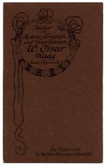 U. Cisar - Haar reverse (spadon75) Tags: cdv austria österreich kuk habsburgempire