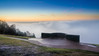 Dawn on Box Hill (Colin_Evans) Tags: fog dawn landscape sunrise boxhill daybreak mist foggy misty memorial monument nationaltrust nt thedowns salomons downs way trig point surrey england uk