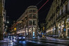 Torino - via Pietro Micca (Borgo Armonico) Tags: italia torino viapietromicca viagiuseppebarbaroux lucidartista notturno città scorcio luci