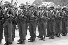 (np485) Tags: thailand military army soldiers parade peagam