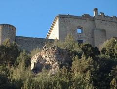 Castillo buitres (JavicMate) Tags: pedraza segovia buitres