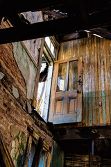 Door on the second floor (Mike Matney Photography & Design) Tags: 2017 canon eos7d january midwest missouri northstlouis stl stlouis decay urban unitedstates us