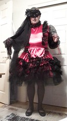 Hot Pink 2 (Maid Honey) Tags: sissy maid