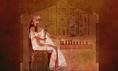 "Senet - Lujoso sistema de objetos lúdicos obsequio del dios Toht a la faraona Nefertari • <a style=""font-size:0.8em;"" href=""http://www.flickr.com/photos/30735181@N00/32399621671/"" target=""_blank"">View on Flickr</a>"