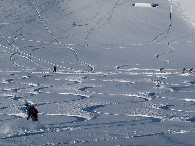 Summit Slopes - Treble Cone, Wanaka NZ  (4 August 2014)
