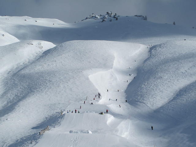Bullet and the Jazz Intermediate Fun Park - Treble Cone, Wanaka NZ (21.8.2014)