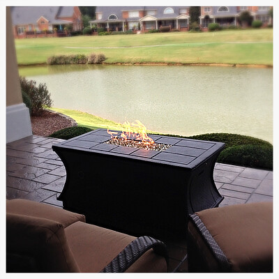 California Outdoor Concepts  Fire Pit, Chattanooga, Tn.