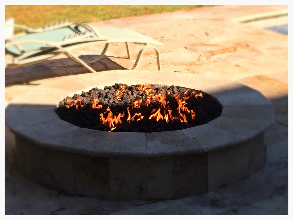 Custom Outdoor Fire Pit. Dalton, Ga.