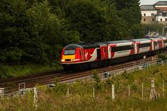 A Freshen Up (sprinterveg) Tags: station speed train coast high railway trains class east virgin horsforth 43 hst vtec 43312