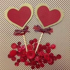 Toppers Corao (Projetos em Papis :: BH :: Brasil) Tags: love amor coraes corao namorados toppers diadosnamorados plaquinhas
