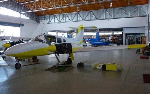 HS-NOY Piper Seminole 180 Hua Hin 13Aug13 (Jean Marc Braun)
