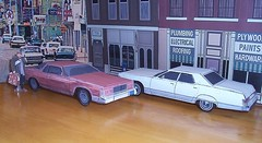 """""""Paper Car"""" Mercury Marquis's (official inspection station) Tags: ford paper mercury grand lincoln buck 1977 """"grand marquis papercraft car"""" russell"""" """"john """"paper marquis"""" candy"""" movie"""" """"uncle """"buck """"mercury mercury"""" buck"""" """"1977 """"papercar"""""""