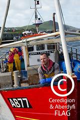 Fishermen aboard the 'Pen Dinas' boat, Aberystwyth harbour /  Pysgotwyr ar gwch 'Pen Dinas' yn harbwr Aberystwyth (Ceredigion Fisheries Local Action Group (FLAG)) Tags: uk wales boat town fishing crab aberystwyth lobster welsh cardiganbay seafish inshorefishing johngorman