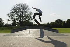 Kickflip (Projectstokes01) Tags: sun canon jump ramp skateboarding box 14 skating pipe sigma fisheye skate skateboard quarter 18200 element kickflip endo gopro 1100d