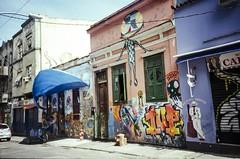 Graffitihood (hiphopmilk) Tags: street brazil film rio analog america 35mm de lomo lca lomography fuji janeiro south analogue lapa 135film jaredyeh hiphopmilk