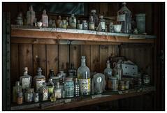 Lab bottles (ducatidave60) Tags: abandoned fuji decay fujifilm dereliction fujinonxf23mmf14 fujixt1