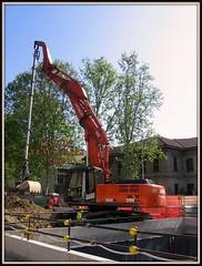 Hitachi Zaxis 350LCN (DaveFuma) Tags: 350 hitachi pelle excavator bagger escavatore zaxis ruspa raupenbagger excavateur